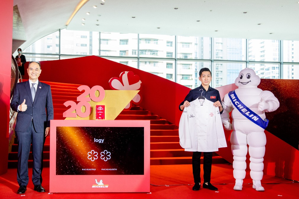 logy was recognised with two MICHELIN stars in the MICHELIN Guide Taipei & Taichung 2020 Selection.