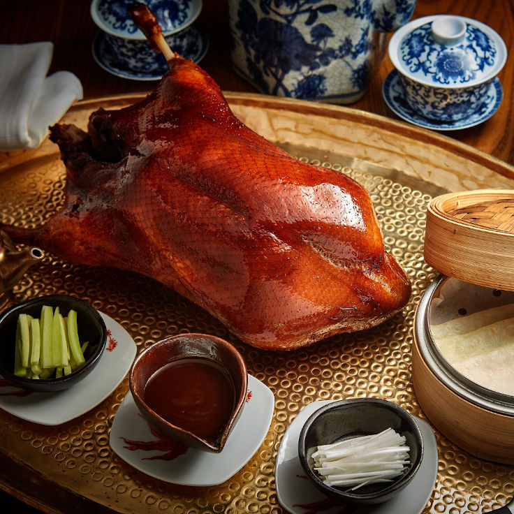 Duddell's Peking Duck (Photo: Duddell's Facebook Page)