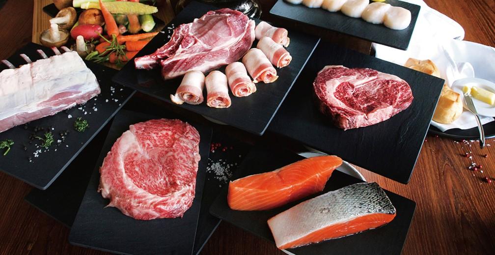 臺中餐盤推薦餐廳推出中秋燒烤禮盒以及單品。(圖片:臺中日月千禧酒店提供)