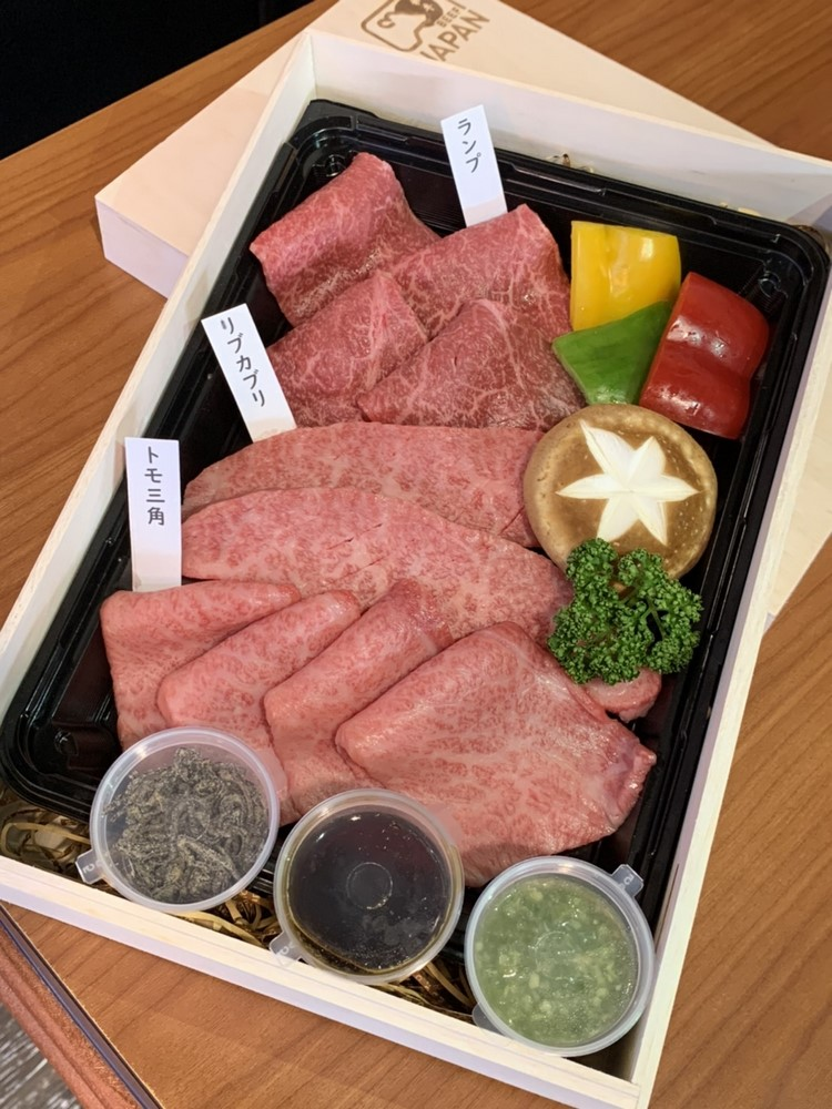 俺達的肉屋今年中秋推珠限量的和牛三拼禮盒。(圖片:俺達的肉屋提供)