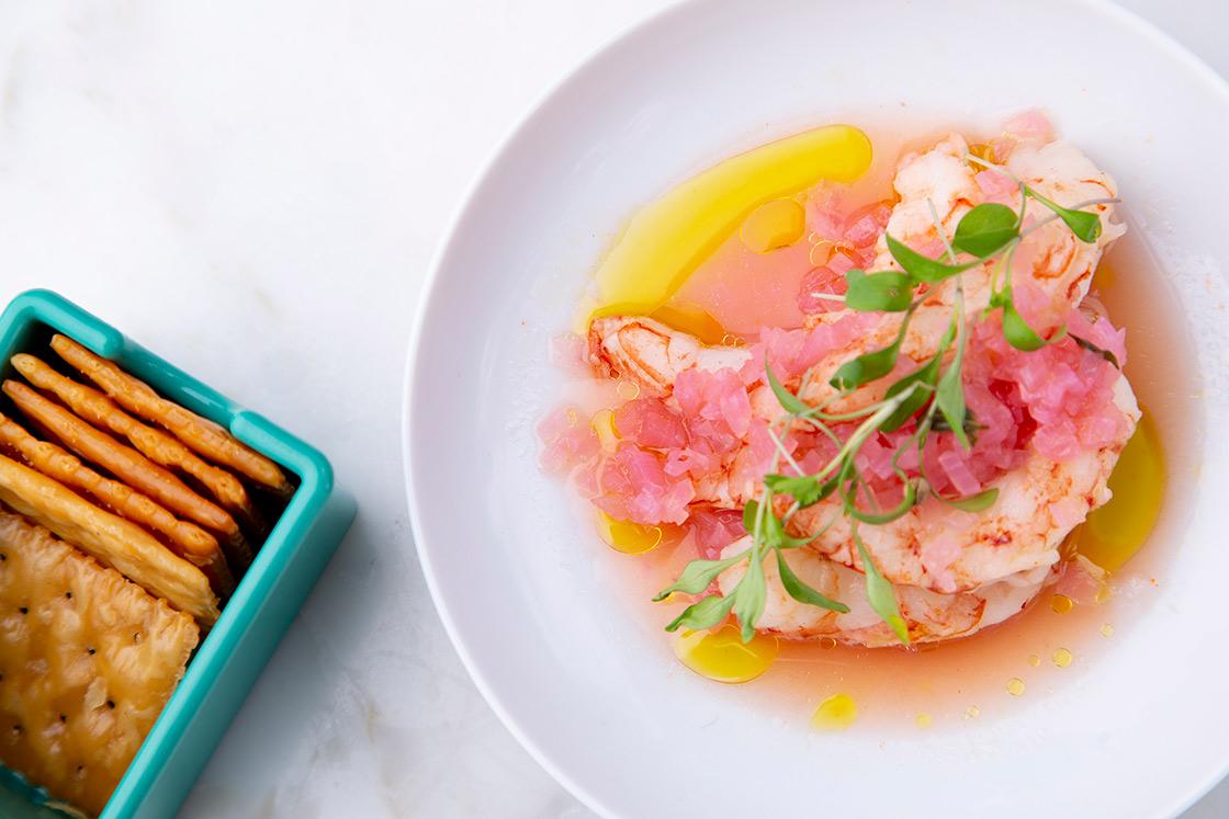 Pickled Shrimp. Photo by Miguel Herrera, courtesy of Saint Julivert.