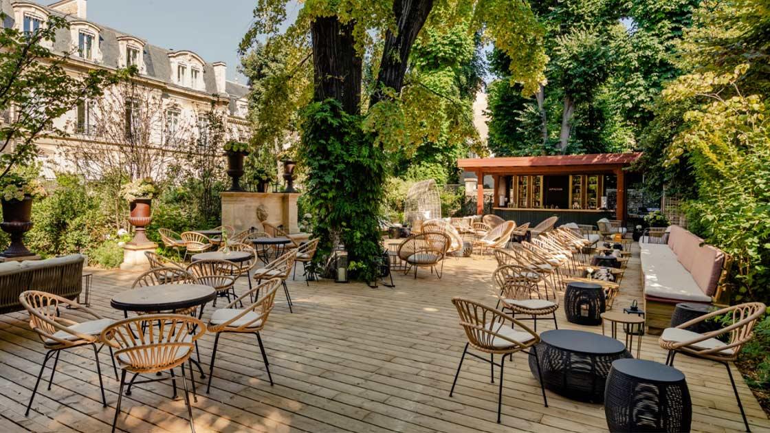 Nouveau Les plus belles terrasses de Paris FL-31