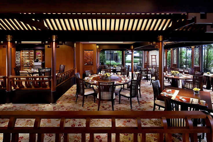 Cherry Garden, a MICHELIN Plate listed restaurant at Mandarin Oriental Singapore (Photo: Mandarin Oriental SIngapore)