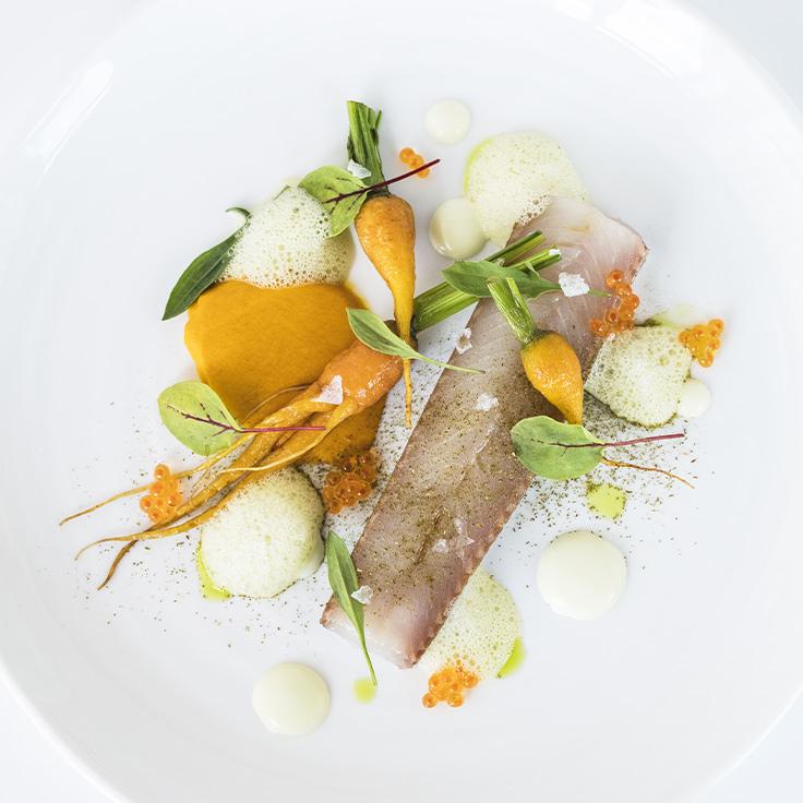 Fera, carottes, épicéa. ©Matthieu Cellard