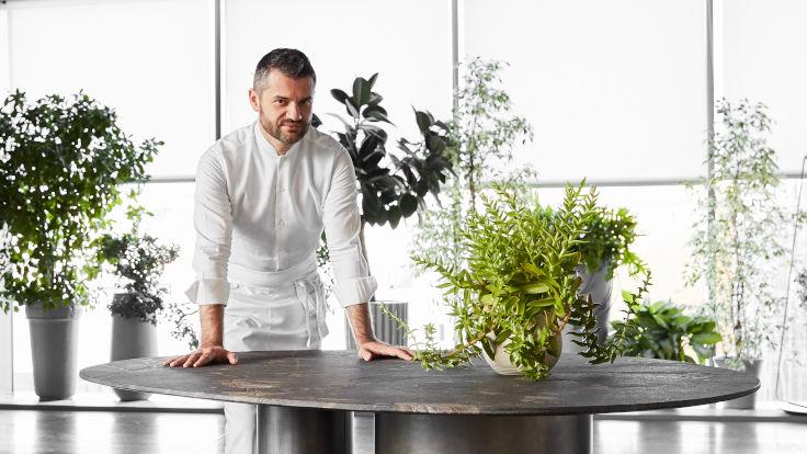 Chef Enrico Bartolini of Enrico Bartolini al Mudec, a three-MICHELIN-starred restaurant in Milan (Photo: FIAMMA)