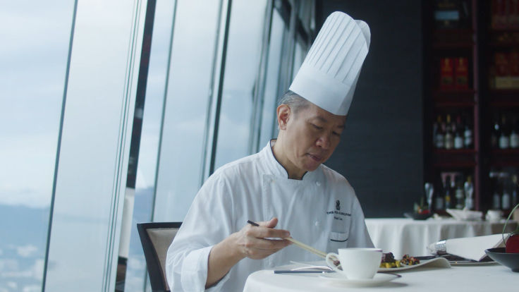 Chef Lau never seeks out inspiration intentionally.