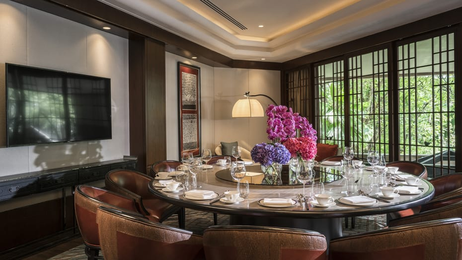 Private Room at Jiang-Nan Chun (Photo: Four Seasons Hotel Singapore)