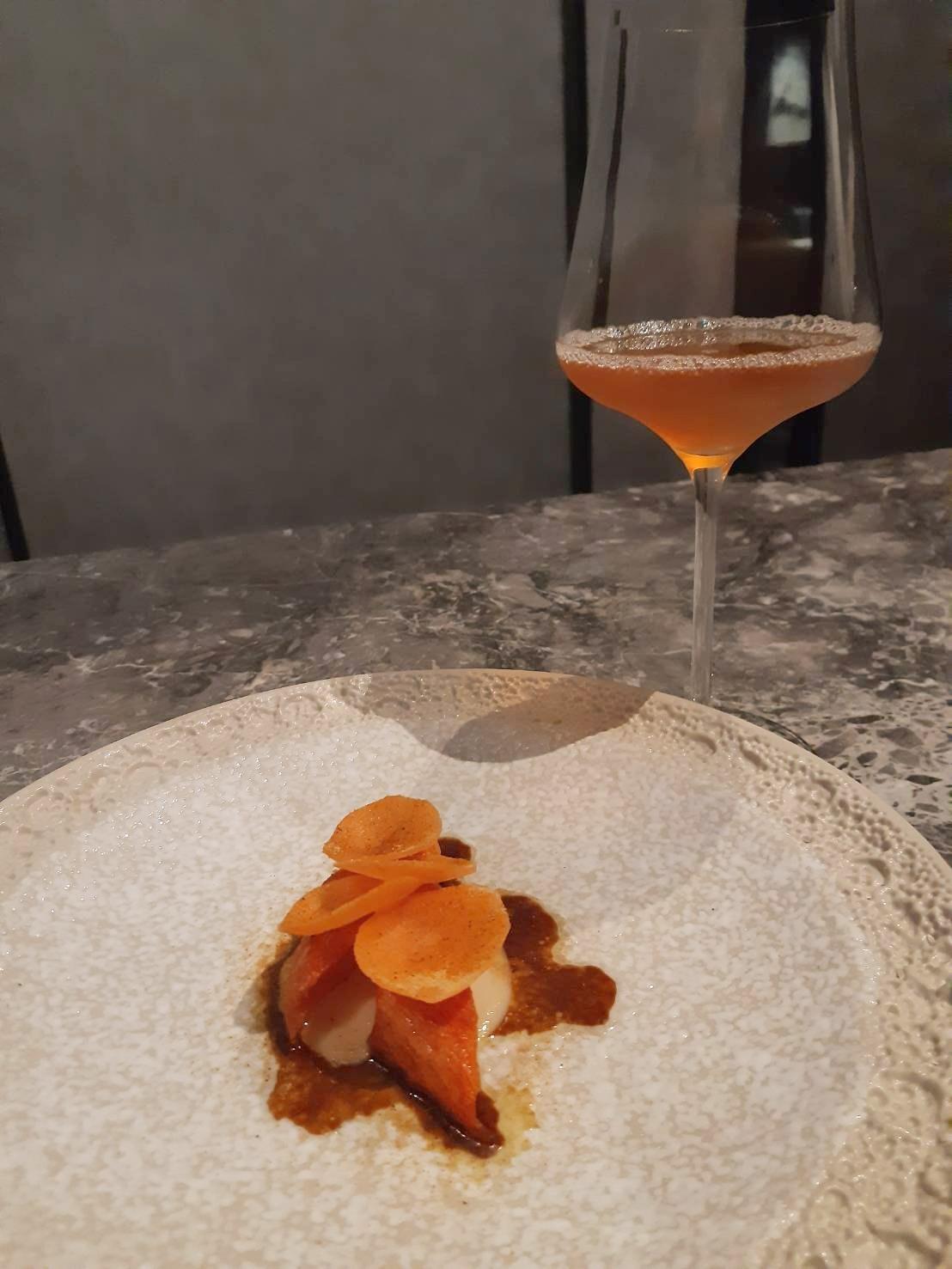 紅蘿蔔 夏威夷果仁 咖啡 carrot macadamia coffee kombucha 蘭 Orchid.jpg