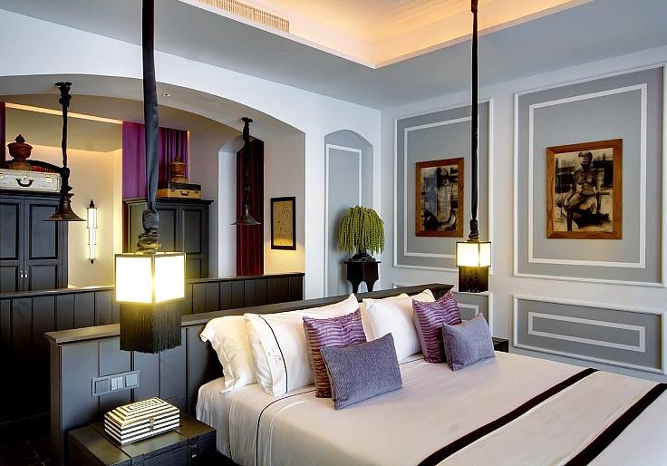ห้องพักที่โรงแรมเดอะสยาม (© เดอะสยาม)