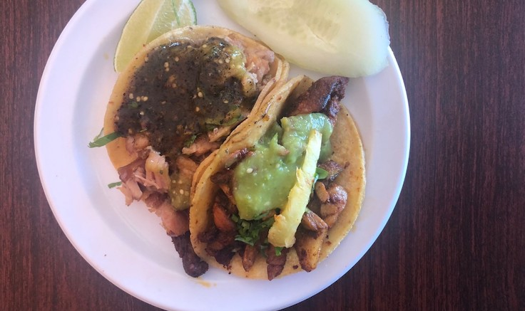 Tacos, Los Carnalitos. Photo © Michelin North America.