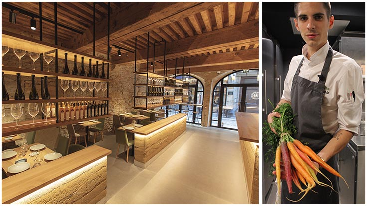 Adrien Zedda, Chef du Culina Hortus à Lyon