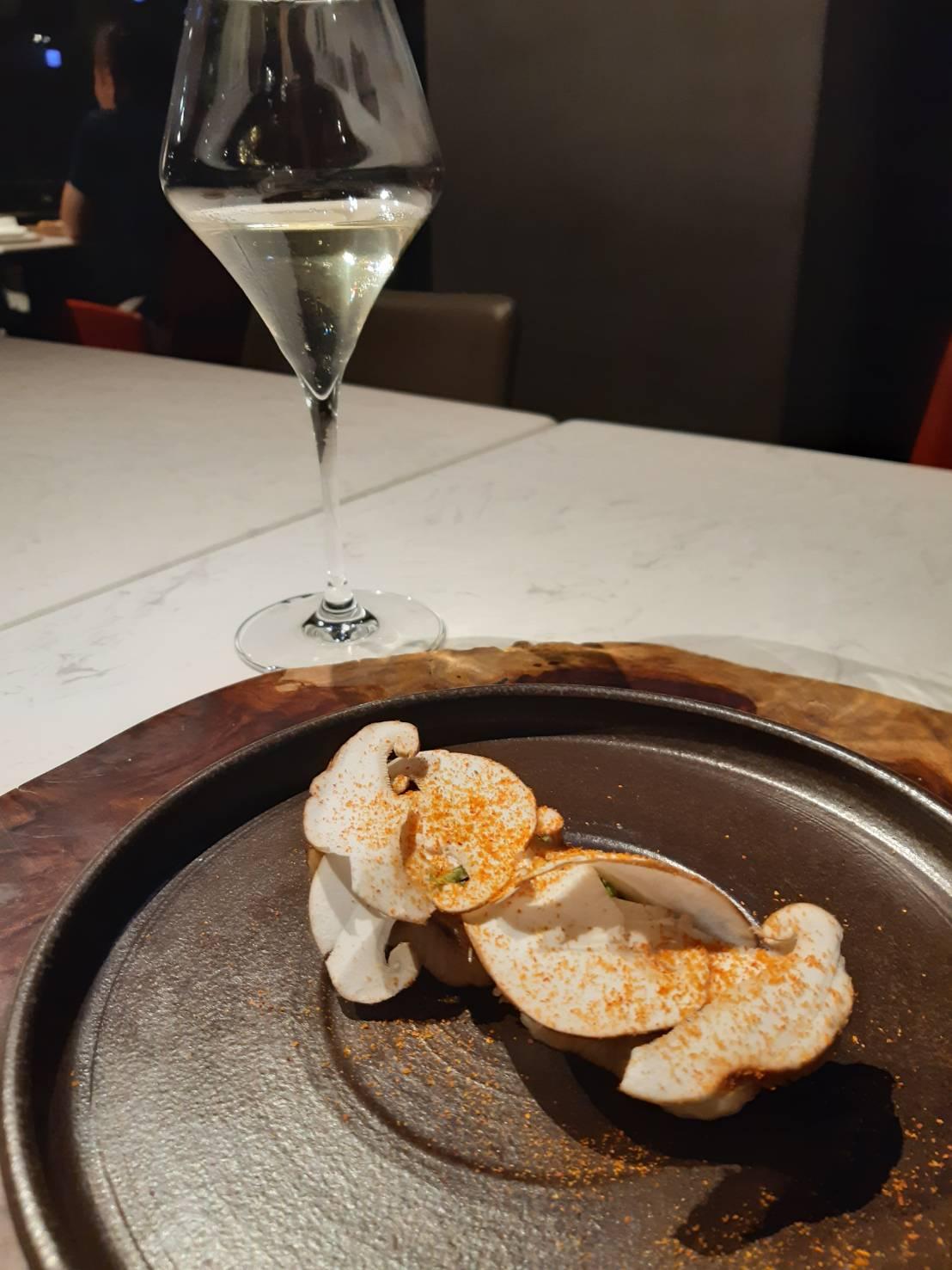 雲林鰻魚 段木香菇  Forchetta 台中米其林.jpg