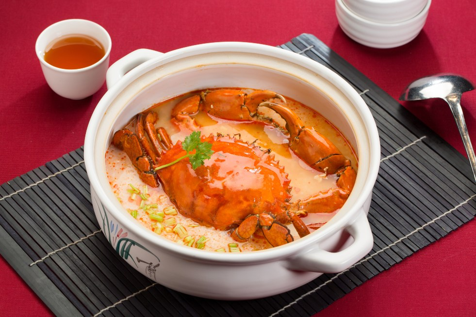 國賓川菜廳的凱里酸湯沙母粥。(圖片:國賓川菜廳提供)