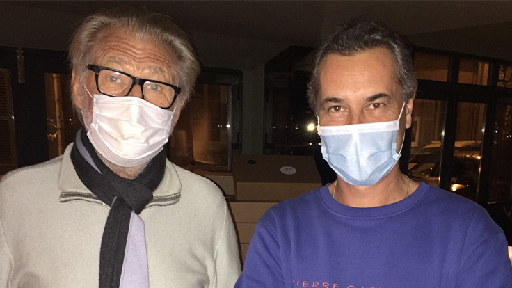 Derrière le masque : Pierre Gagnaire et Franck, sommelier de Gaya/MICHELIN