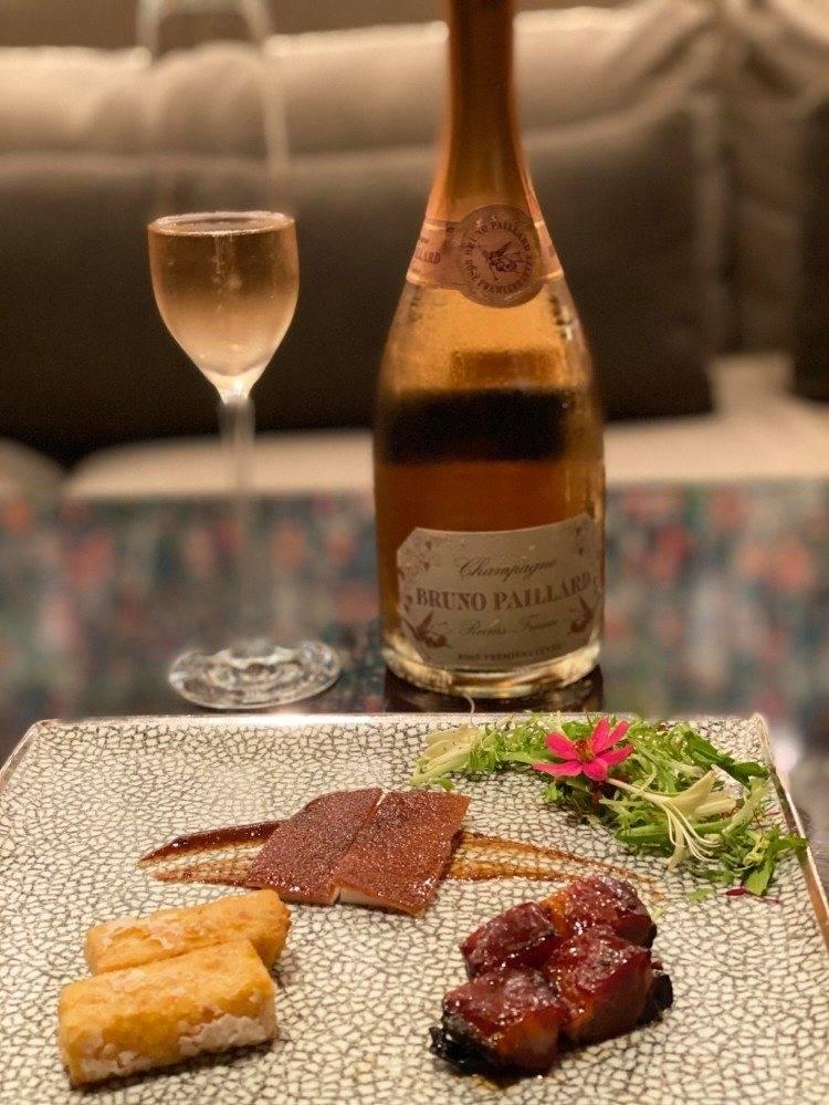 米其林套餐 頭盤 香檳 雅閣.jpg
