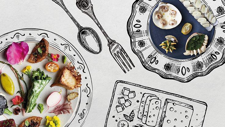 จานอาหารของร้าน Noma จากความคิดอันสร้างสรรค์ของเชฟเรเน เรดเซพี (René Redzepi)  (© Ditte Isager / Noma)