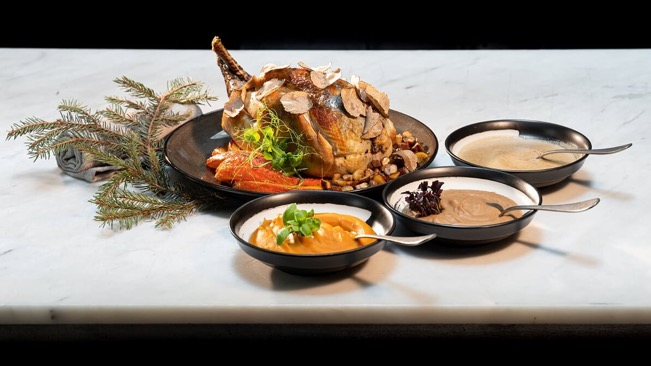 Jag's rustic French dinner for festive takeaway (Photo: Jag)
