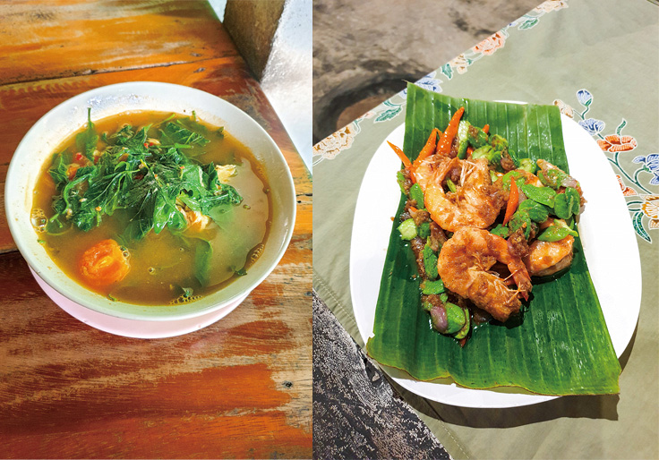 Local delicacies from Charoen Suan Aek in Chiang Mai and Nai Mueang in Phang-Nga. (© Charoen Suan Aek, Nai Mueang)