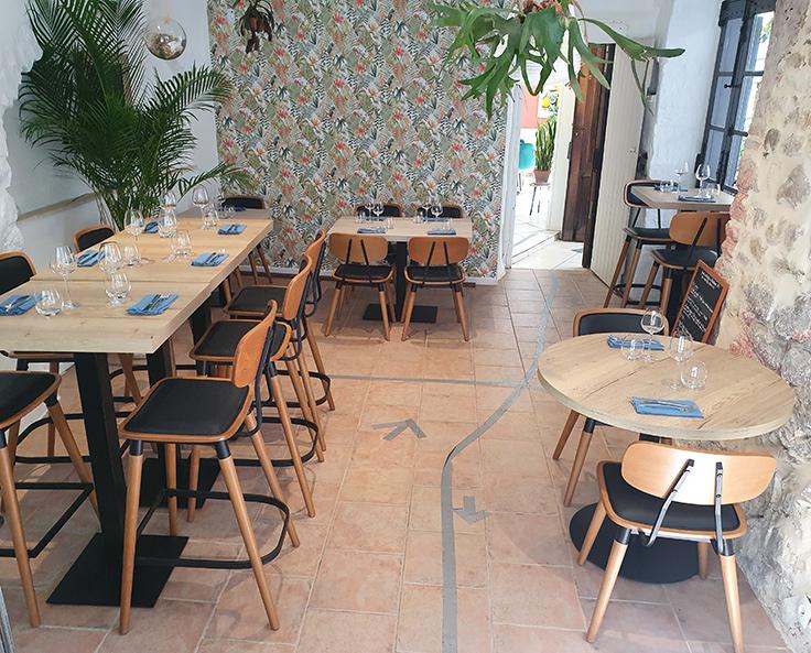 Le restaurant Arkadia, nouveau Bib Gourmand © Michelin