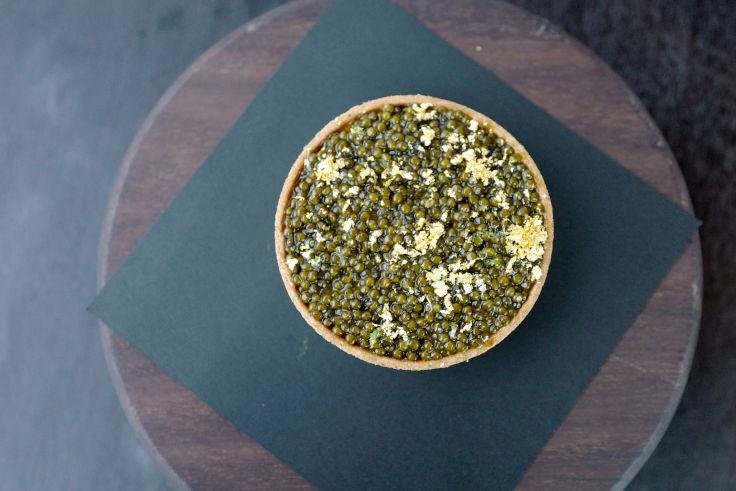 Écriture's Caviar Tart (Photo: Écriture)