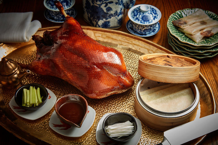 The Peking Duck Set at Duddell's (Photo: Duddell's)