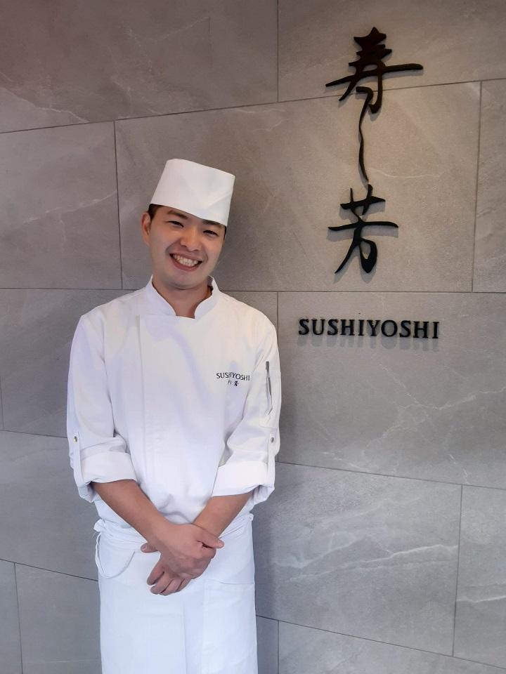 台北壽司芳 橋本和宏 Sushiyoshi Hiroki san.jpg