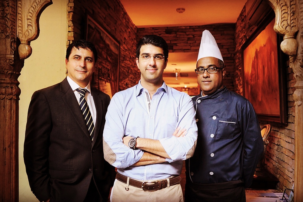 Sid Sehgal and the team behind Indus restaurant. (© Indus)