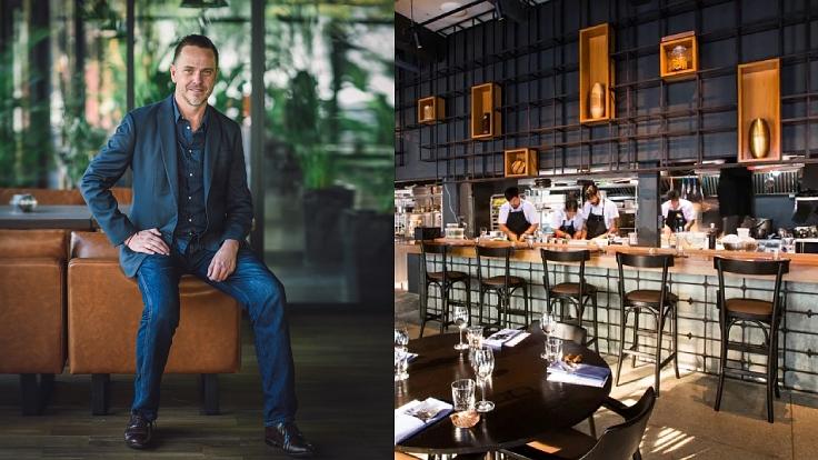 Greg Plowes ผู้แนะนำไวน์ของร้าน 80/20 (© MICHELIN Guide Thailand, 80/20)