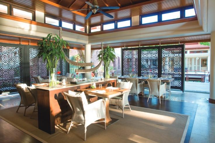 Tucked inside a luxury resort, Pru stands for 'plant, raise, understand'. (© Pru)