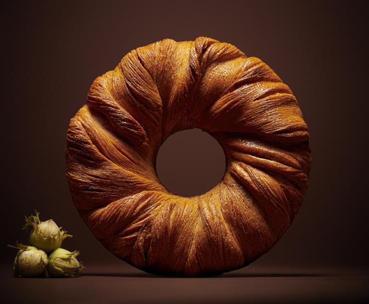 La galette de Michael Bartocetti (Le Cinq) © Laurent Fau