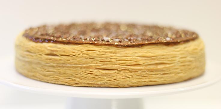 La galette d'Aymeric Pinard © La Côte d'or / Bernard Loiseau