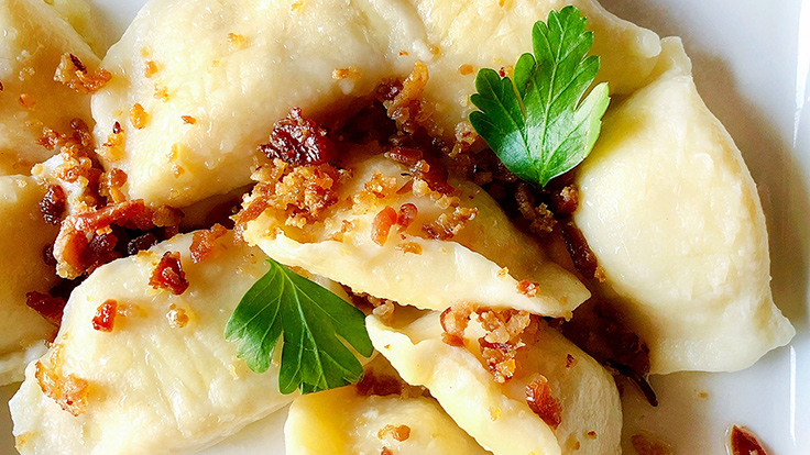 Staropolska's pierogies in Chicago. (© MICHELIN Guide)