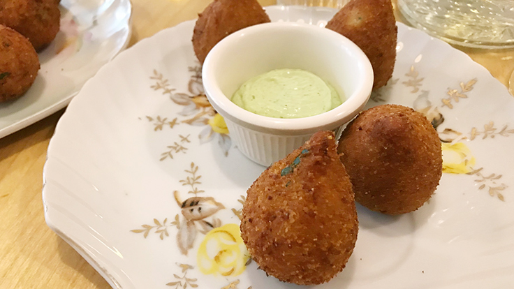 WoodSpoon's coxinha in Los Angeles. (© MICHELIN Guide)