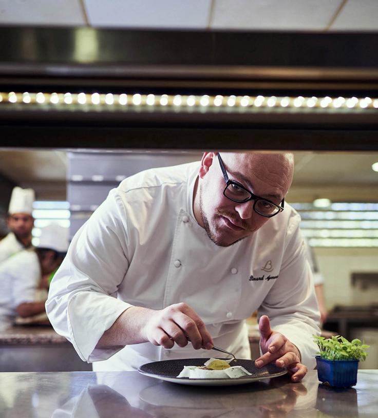 Aymeric Pinard, le pâtissier de la Côte d'Or © Jonathan Thevenet