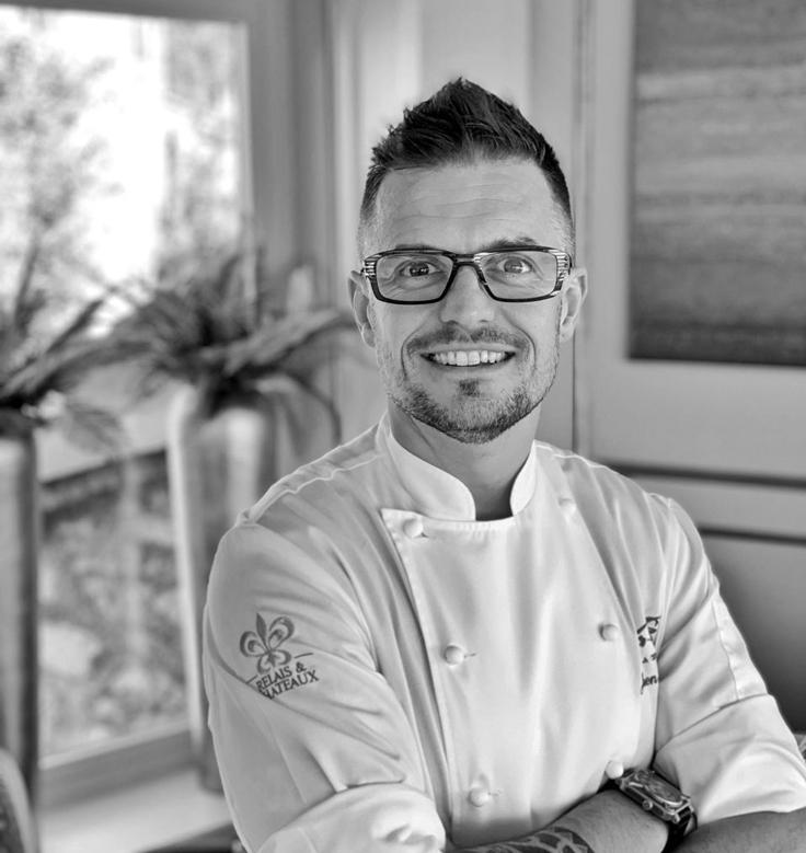 Julien Dugourd, pâtissier de la Chèvre d'Or © La Chèvre d'Or