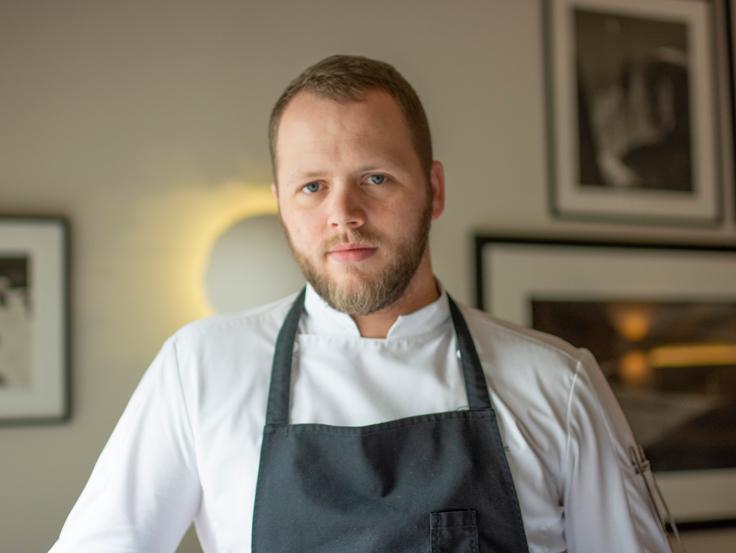 Le pâtissier Brandon Dehan © G. Rouzeau / Michelin