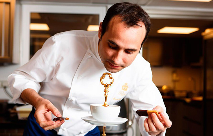François Perret, pâtissier du Ritz © Matthieu Cellard
