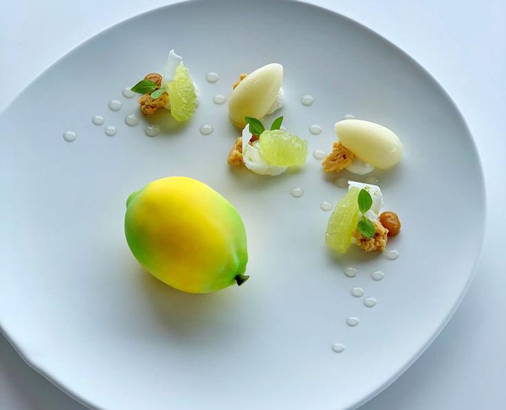 Le citron de Julien Dugourd @ La Chèvre d'Or