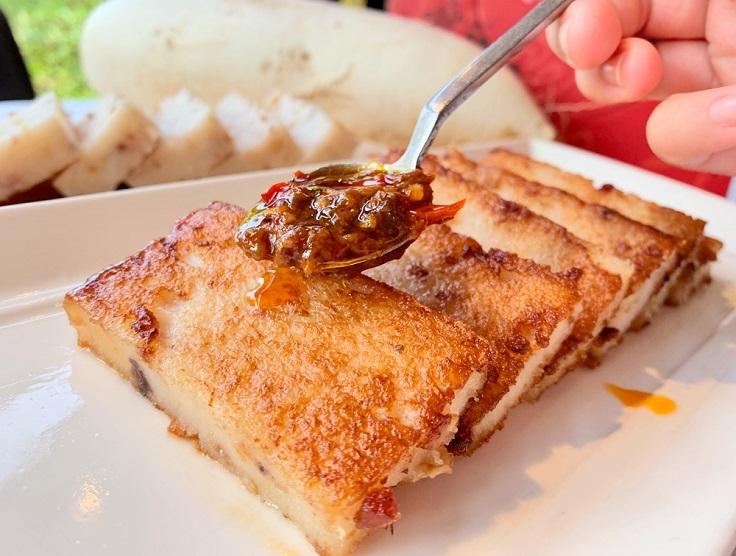 膳馨的台式「彩頭糕」。(圖片及首圖,膳馨提供)