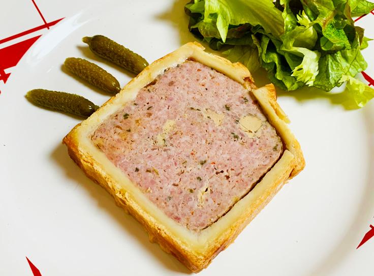 Le pâté en croûte de Lamaccotte à Nantes ©MICHELIN