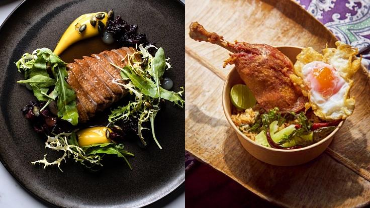 กลางวันนี้อาหารนานาชาติของเชฟแดน หรือข้าวผัดของเชฟต้นดี? (© Cadency by Dan Bark, Chef Ton Bowls)
