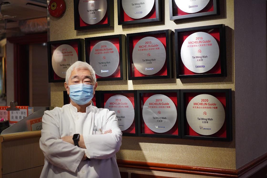 「大榮華」過去 11 年均獲得必比登推介,圖為餐廳的執行董事梁文韜。(圖片:Pearl Yan)