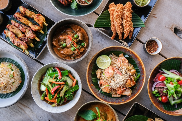Traditional with a modern touch of Thai food by the team of Boo Raan. (© Eleonore Van Bavel/ Eleonore Van Bavel)