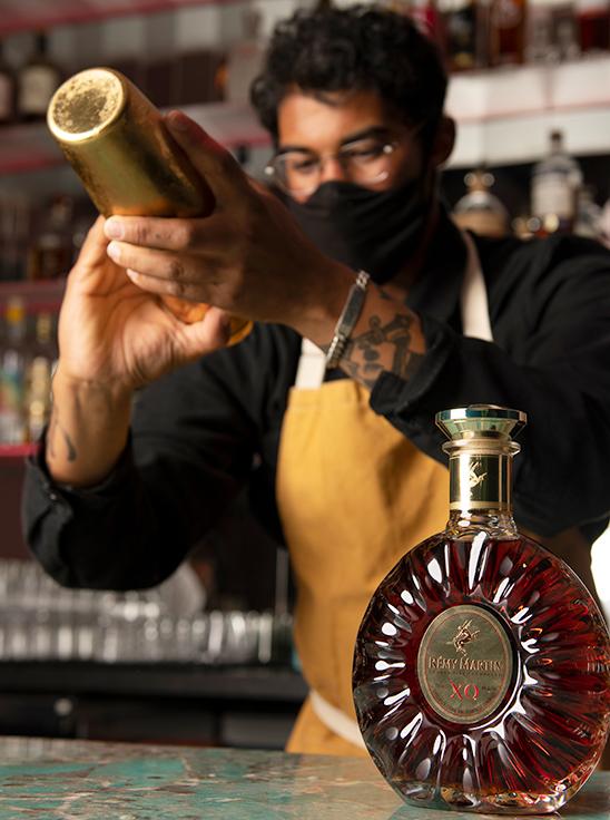 Mister Jiu's bar manager Garrett Marks. Photo by Colin Peck