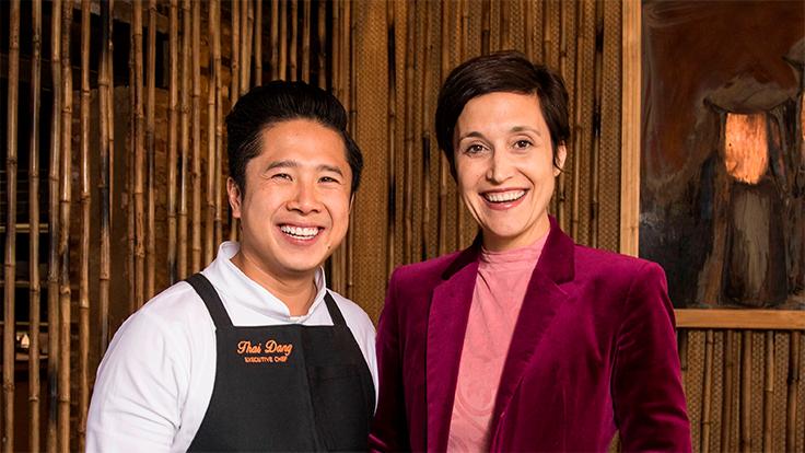Thai Dang and Danielle Dang. Photo courtesy Danielle Dang