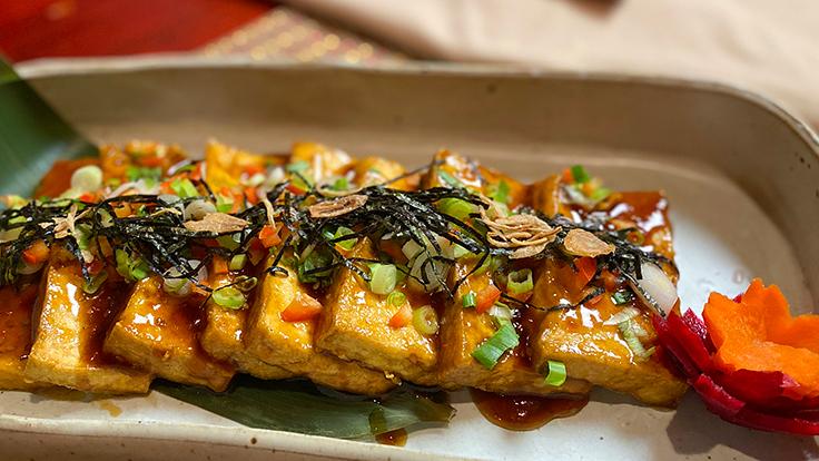 HanGawi's grilled tofu delight. Photo courtesy of HanGawi