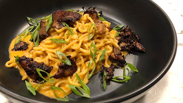 Fancy Radish's dan dan noodles. Photo by Michelin North America