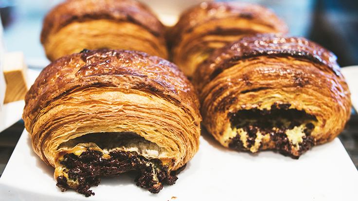 Tartine Manufactory's pain au chocolat. Photo courtesy of Tartine Manufactory