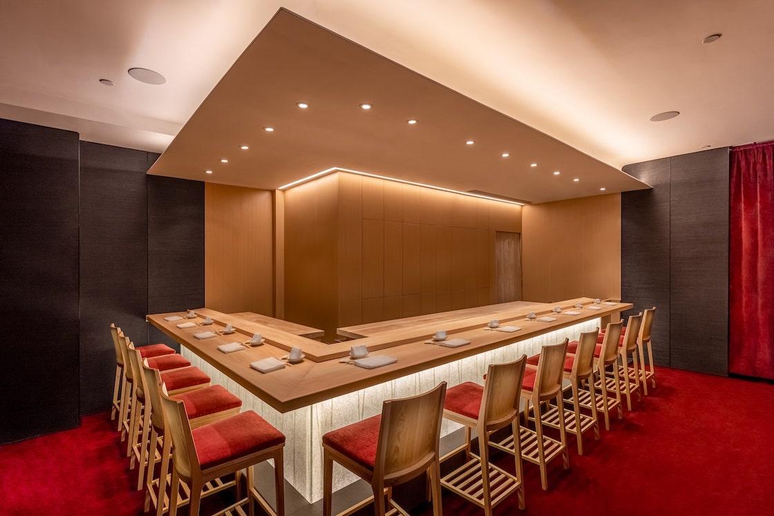The 12-seat counter of The Araki. (Photo: Courtesy of The Araki)