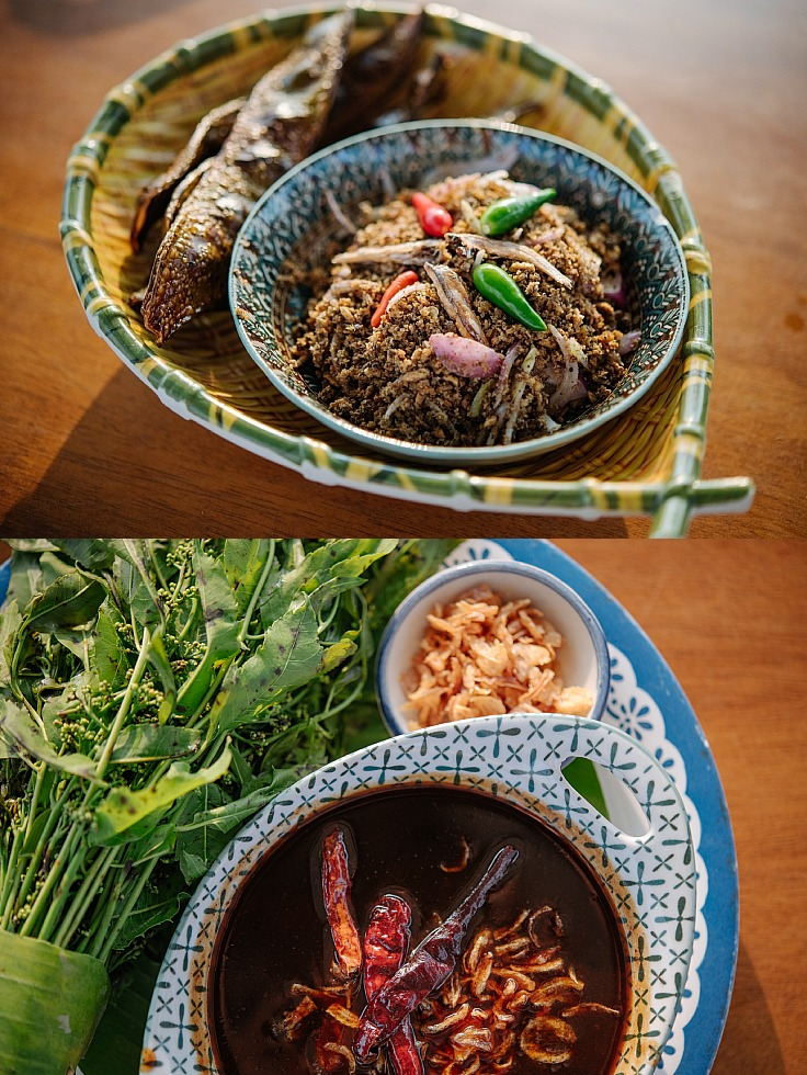 Betrothed Chili Paste with Neem and Sweet Fish Sauce. (© Anuwat Senivansa Na Ayudhya / MICHELIN Guide Thailand)